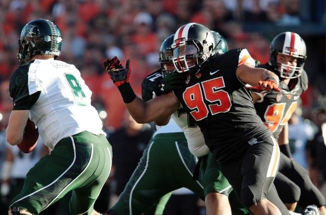 Hawaii Warriors vs. Oregon State Beavers Pick-Odds-Prediction - 9/6/14