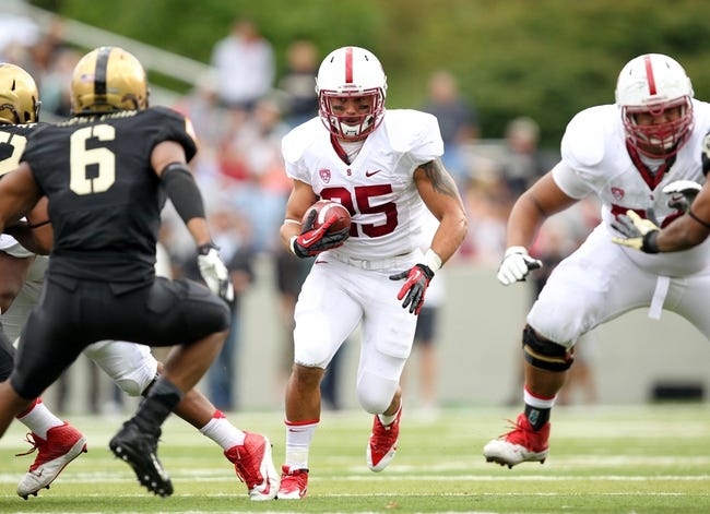 Stanford Cardinal vs. Army Black Knights 9/13/14 College Football Pick and Odds