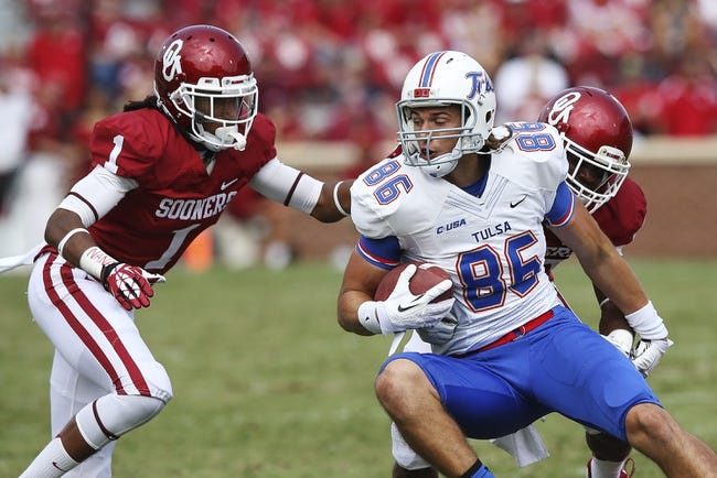 Oklahoma Sooners vs. Tulsa Golden Hurricane NCAAF Pick, Odds, Prediction - 9/6/14