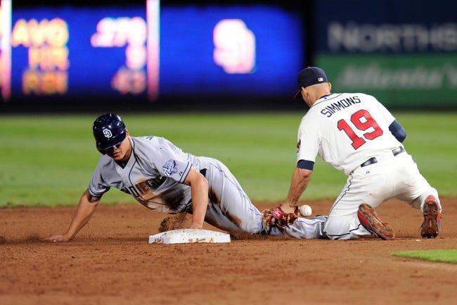 Atlanta Braves vs. San Diego Padres MLB Pick, Odds, Prediction 7/25/14