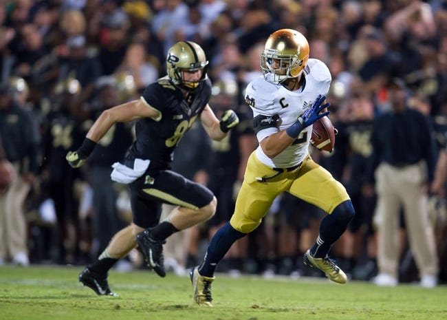 Purdue Boilermakers vs. Notre Dame Fighting Irish CFB Pick, Odds, Prediction - 9/13/14
