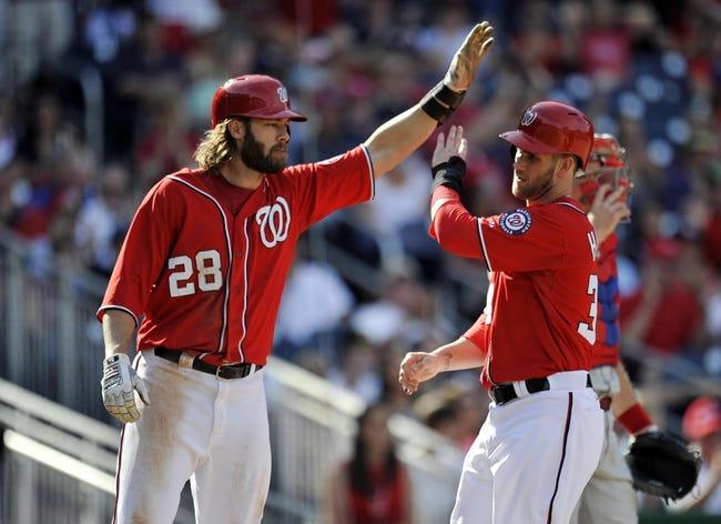 Philadelphia Phillies vs. Washington Nationals MLB Pick, Odds, Prediction - 5/2/14