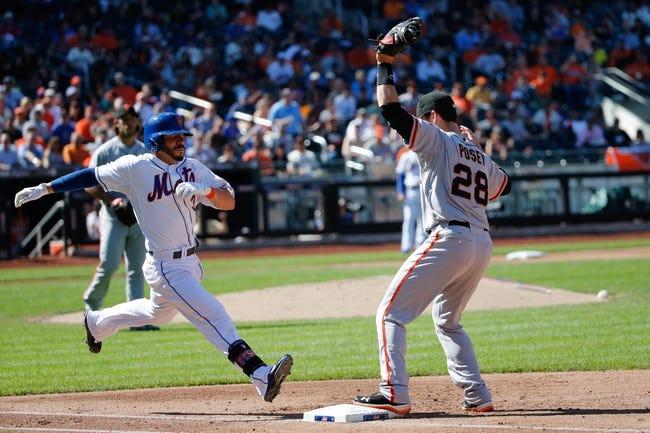 San Francisco Giants vs. New York Mets MLB Pick, Odds, Prediction 6/6/14