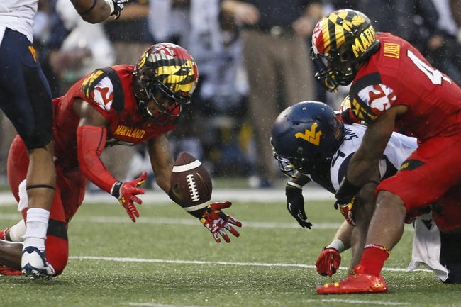 West Virginia Mountaineers at Maryland Terrapins CFB Pick, Odds, Prediction - 9/13/14