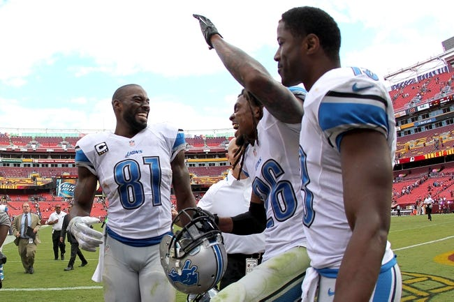 Detroit Lions at Washington Redskins- 8/20/15 NFL Pick, Odds, and Prediction