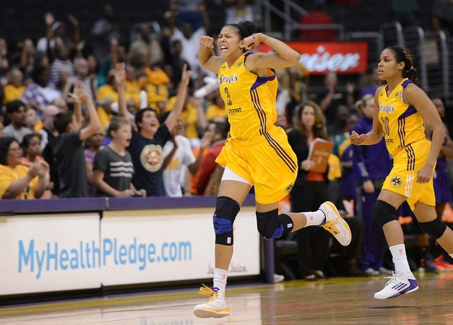 Minnesota Lynx vs. Los Angeles Sparks - 9/20/15 West Semifinals Pick, Odds, and Prediction