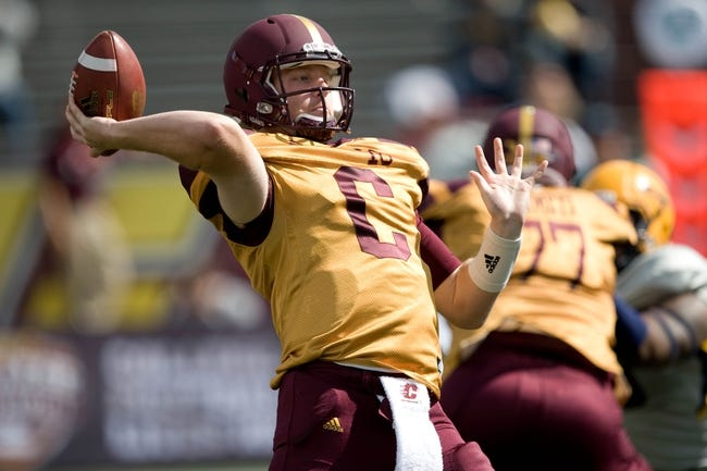 Eastern Michigan Eagles vs. Central Michigan Chippewas - 11/1/14 College Football Pick, Odds, and Prediction