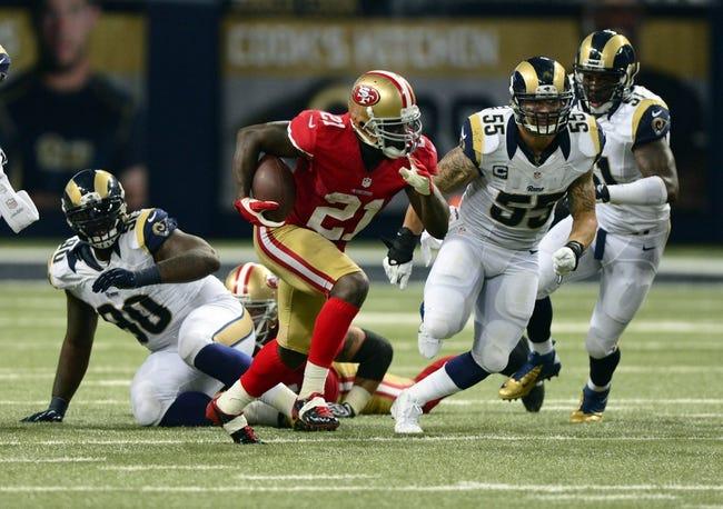 Fantasy Football 2014: 49ers at Rams 10/13/14 Week 6 Preview