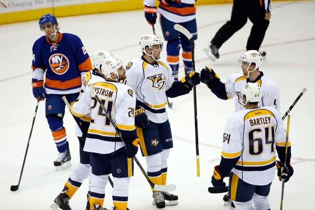 Islanders vs. Predators - 2/19/15 NHL Pick, Odds, and Prediction