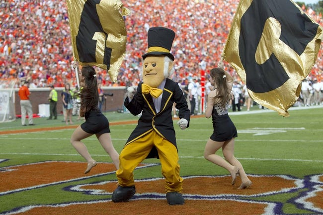 Clemson at Wake Forest - 11/6/14 College Football Pick, Odds, and Prediction