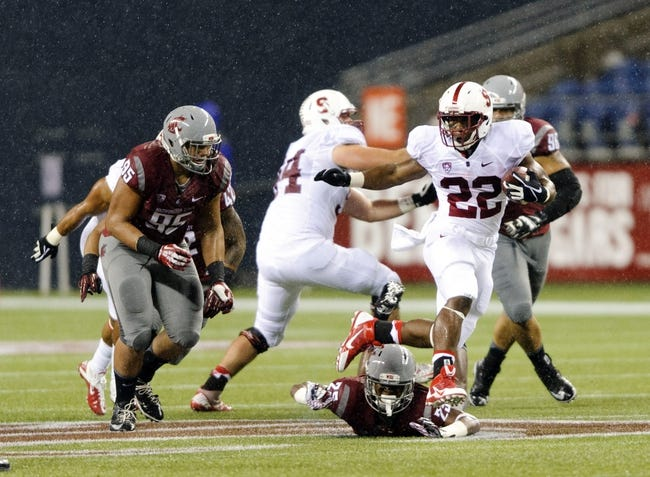 Washington State Cougars at Stanford Cardinal - 10/10/14 CFB Pick, Odds, Prediction