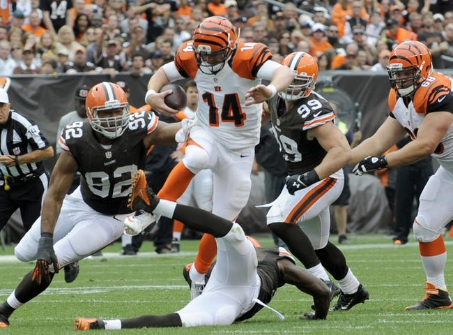 Fantasy Football 2014: Browns at Bengals 11/6/14 Week 10 Preview