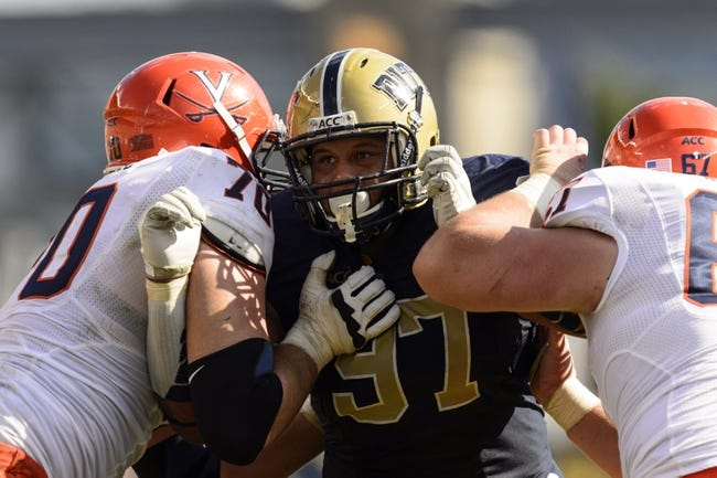 Pittsburgh Panthers at Virginia Cavaliers - 10/4/14 CFB Pick, Odds, Prediction