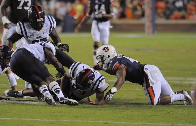 Auburn at Ole Miss - 11/1/14 College Football Pick, Odds, and Prediction