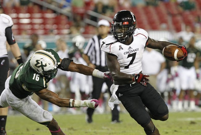 South Florida at Cincinnati - 10/24/14 CFB Pick, Odds, Prediction