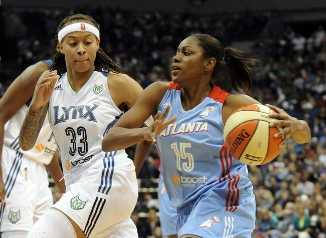 Indiana Fever vs. Atlanta Dream - 6/16/15 WNBA Pick, Odds, and Prediction