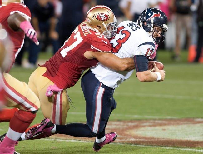 Houston Texans vs. San Francisco 49ers Free Pick, Odds, Prediction 8/28/14