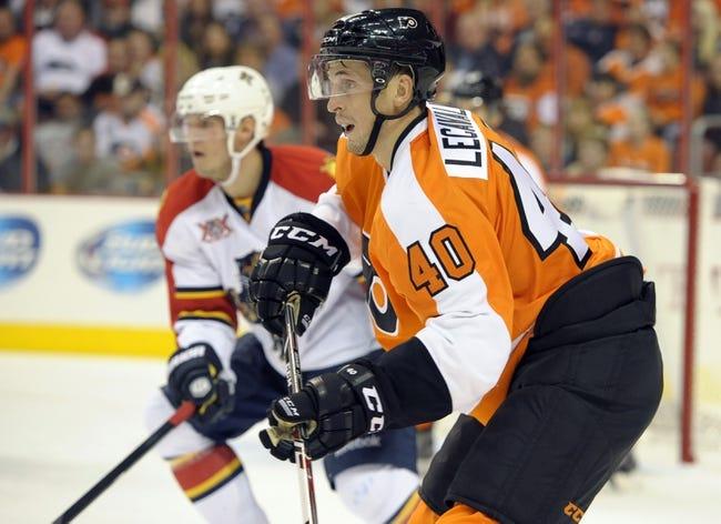 Florida Panthers vs. Philadelphia Flyers - 4/8/14