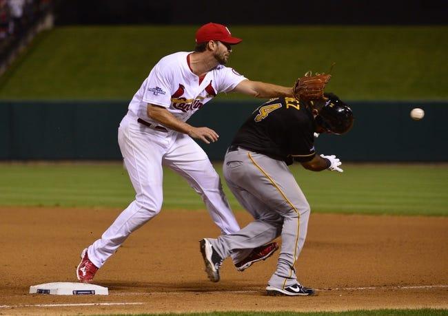 Pittsburgh Pirates vs. St. Louis Cardinals Pick-Odds-Prediction - 4/5/14