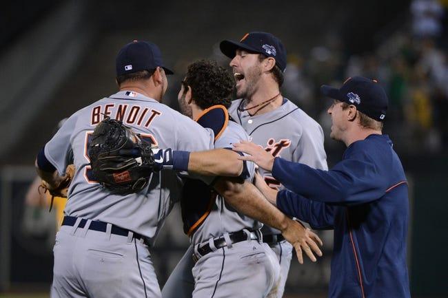 Oakland Athletics vs. Detroit Tigers MLB Pick, Odds, Prediction - 5/26/14