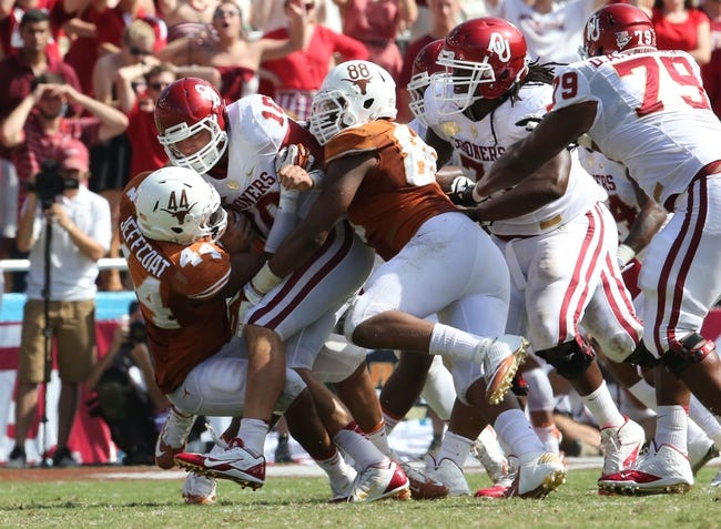 Oklahoma Sooners vs. Texas Longhorns - 10/11/14 CFB Pick, Odds, Prediction