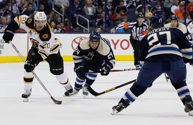 Blue Jackets vs. Bruins - 11/21/14 NHL Pick, Odds, and Prediction