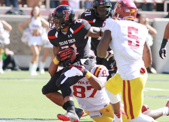 CFB | Texas Tech Red Raiders (3-7) at Iowa State Cyclones (2-7)