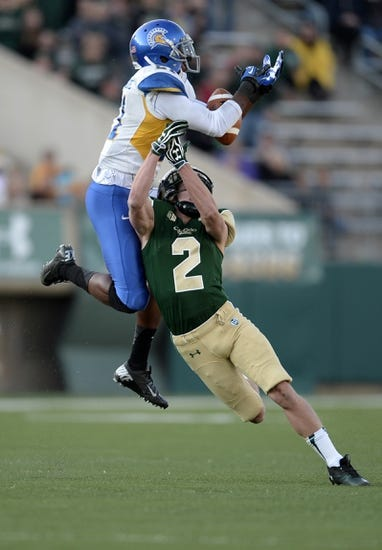 San Jose State Spartans vs. Colorado State Rams - 11/1/14 College Football Pick, Odds, and Prediction