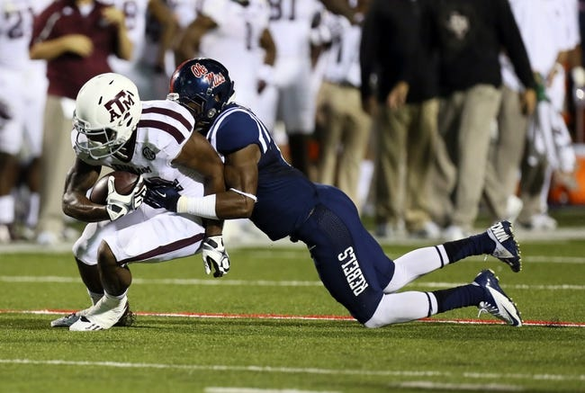 Ole Miss Rebels at Texas A&M Aggies - 10/11/14 CFB Pick, Odds, Prediction