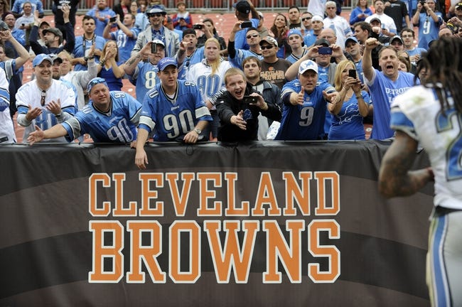 Detroit Lions vs. Cleveland Browns NFL Pick, Odds, Prediction - 8/9/14