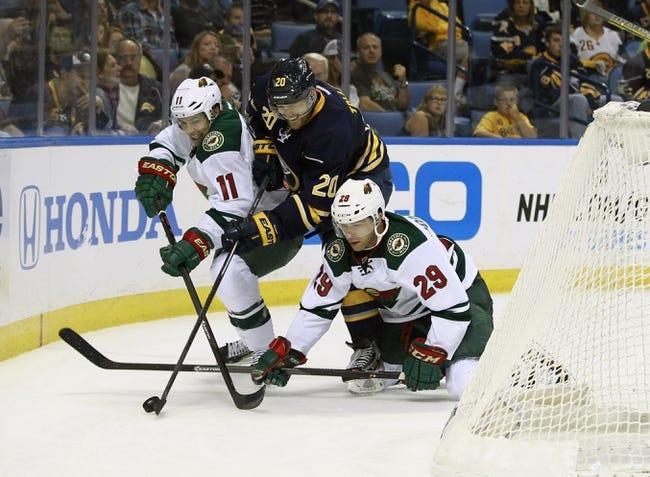 Minnesota Wild vs. Buffalo Sabres - 11/13/14 NHL Pick, Odds, and Prediction
