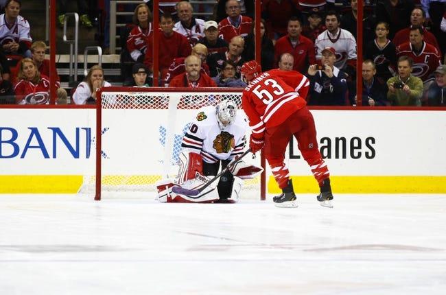 Chicago Blackhawks vs. Carolina Hurricanes - 3/2/15 NHL Pick, Odds, and Prediction