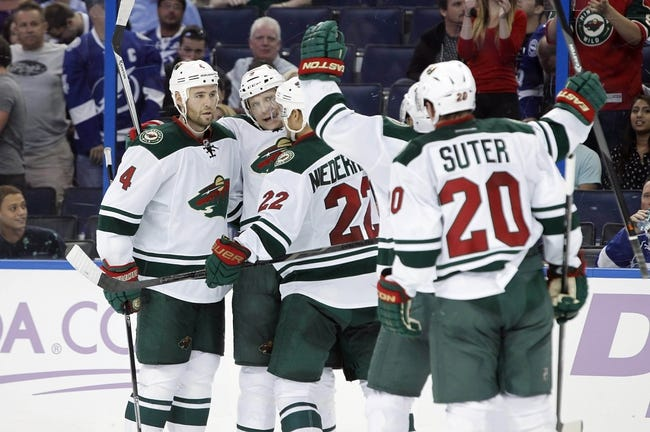Minnesota Wild vs. Tampa Bay Lightning - 10/25/14