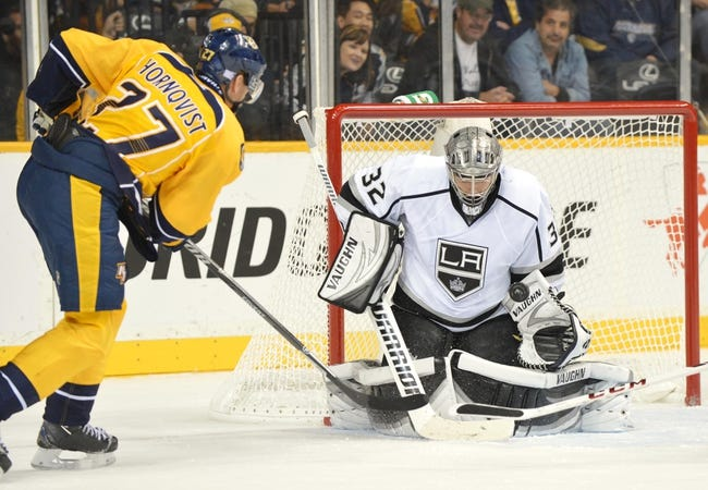 Nashville Predators vs. Los Angeles Kings - 11/25/14 NHL Pick, Odds, and Prediction