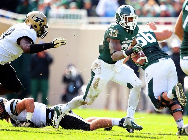 Purdue Boilermakers vs. Michigan State Spartans - 10/11/14 CFB Pick, Odds, Prediction