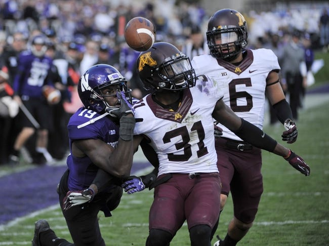 Minnesota vs. Northwestern - 10/11/14 CFB Pick, Odds, Prediction