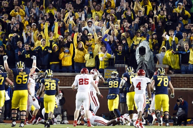 Michigan vs. Indiana - 11/1/14 College Football Pick, Odds, and Prediction
