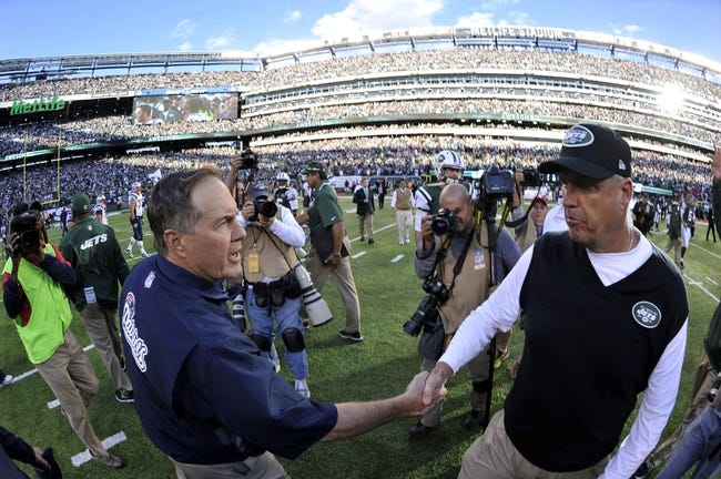 New England Patriots vs. New York Jets - 10/16/14 NFL Pick, Odds, Prediction