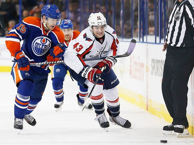 Edmonton Oilers vs. Washington Capitals - 10/22/14