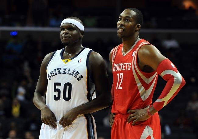 Memphis Grizzlies vs. Houston Rockets - 10/9/14 NBA Preseason Pick, Odds, Prediction