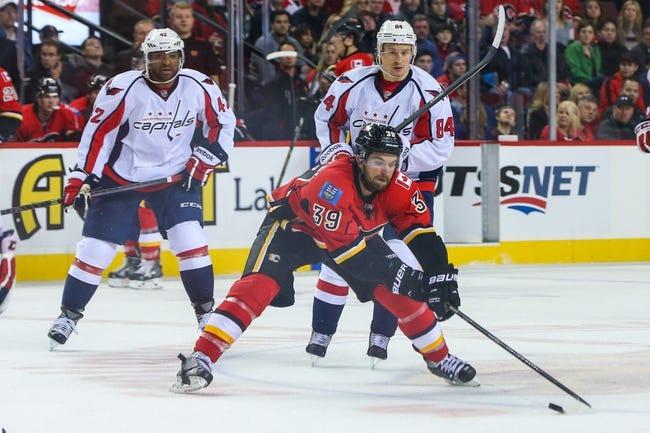 Calgary Flames vs. Washington Capitals - 10/25/14