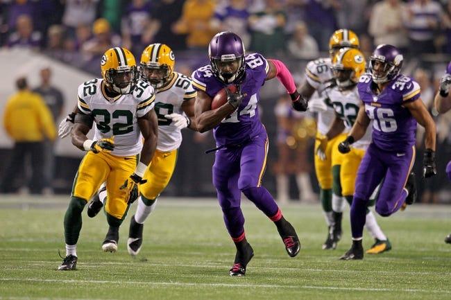 Fantasy Football 2014: Vikings at Packers 10/2/14 Week 5 Preview