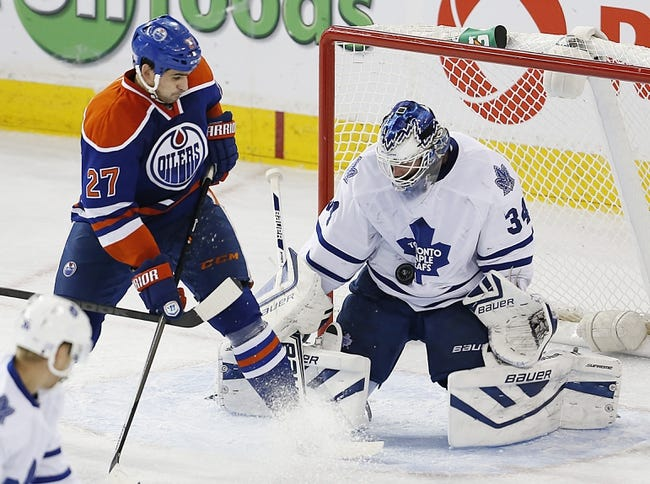 Toronto Maple Leafs vs. Edmonton Oilers - 2/7/15 NHL Pick, Odds, and Prediction