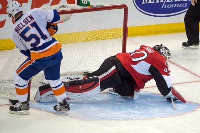 Ottawa Senators vs. New York Islanders - 4/2/14