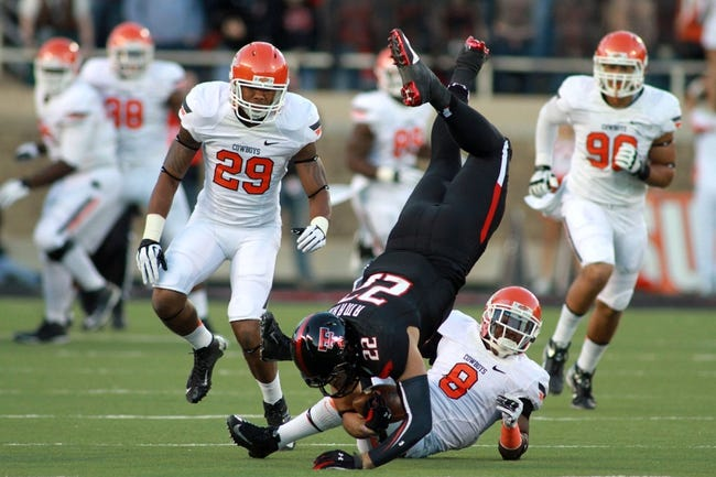 Oklahoma State Cowboys vs. Texas Tech Red Raiders CFB Pick, Odds, Prediction - 9/25/14