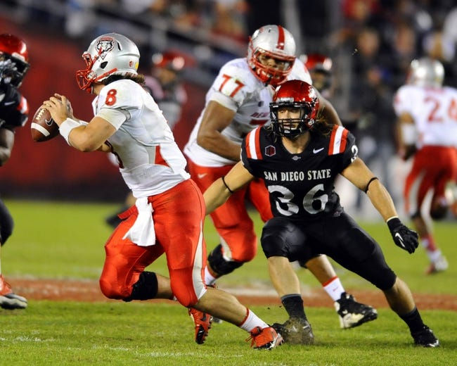 San Diego State Aztecs at New Mexico Lobos - 10/10/14 CFB Pick, Odds, Prediction