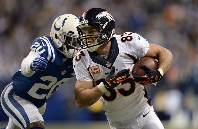 Denver Broncos vs. Indianapolis Colts - 9/7/14 NFL Pick and Odds