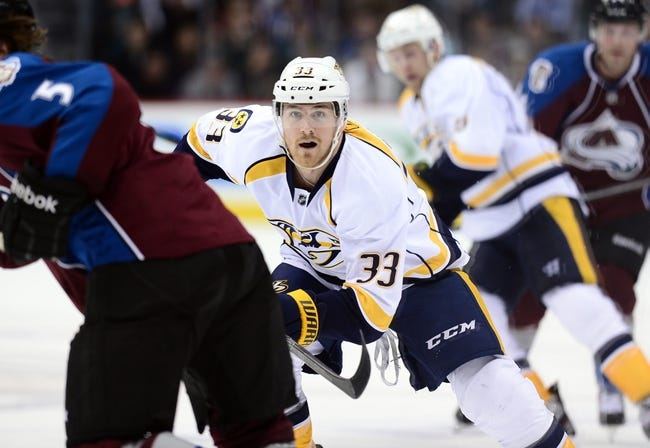 Colorado Avalanche vs. Nashville Predators - 12/9/14 NHL Pick, Odds, and Prediction