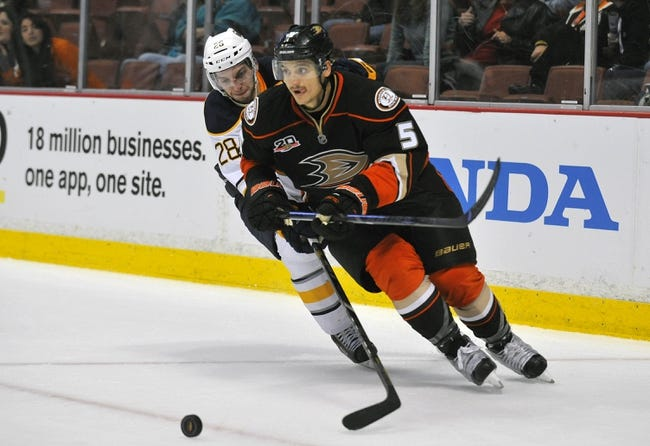 Buffalo Sabres vs. Anaheim Ducks Pick-Odds-Prediction - 10/13/14