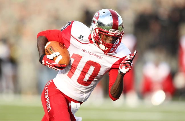 Western Kentucky Hilltoppers vs. Bowling Green Falcons Pick-Odds-Prediction - 8/29/14